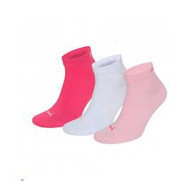 Calcetines Puma unisex quarter plain pink lady