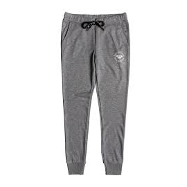 Pantalón Roxy Hello the World fleece gris mujer