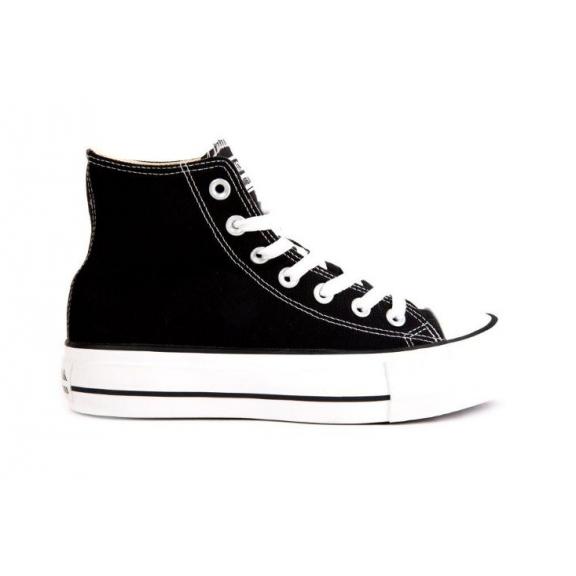 b36c8ca005a Zapatillas de lona Andy-z Basket bota piso doble negro mujer ...