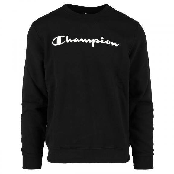 6a869245e112e Sudadera Champion Comfortfit negro hombre - Deportes Moya