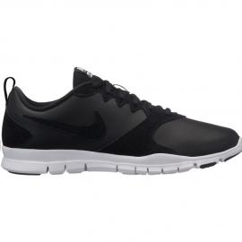 Zapatillas Nike Flex essential TR leather negra mujer