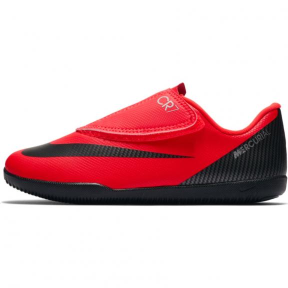 52529eb0 Zapatillas fútbol Nike vapor 12 club (psv) CR7 naranja niño ...