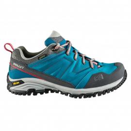 Zapatillas trekking Millet Hike Up GTX azul/gris mujer