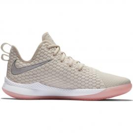 Zapatillas baloncesto Nike LeBron Witness III beige