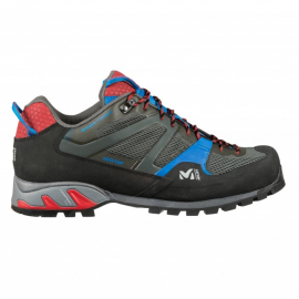Zapatillas aproximación Millet Trident GTX gris/azul hombre