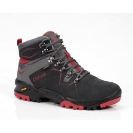 Botas trekking Chiruca Makalu 09 Gore-tex  gris/roja hombre