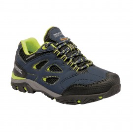Zapatillas trekking Regatta Holcombe Low azul niñ@