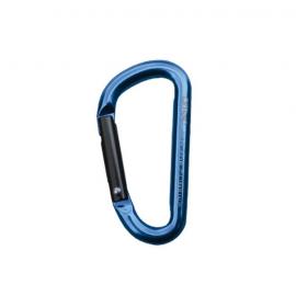 Mosquetón auxilar Qi´Rock 6mm azul