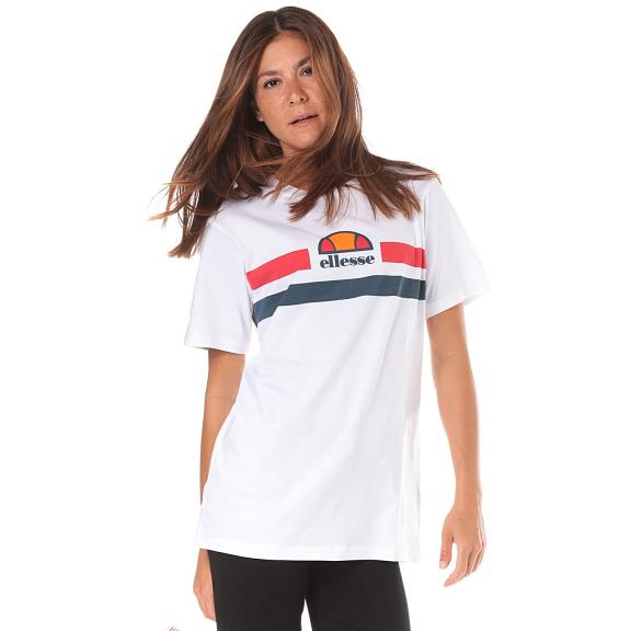 Camiseta Ellesse Lattea blanca mujer