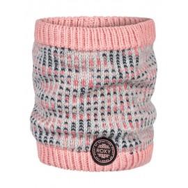 Braga para cuello Roxy Snowflurry Girl gris rosa niña