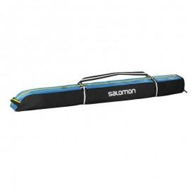 Bolsa esquís Salomon Ski Extend 1P 165+20 negro azul