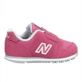 Zapatillas New Balance KV373 Lifestyle rosa bebé