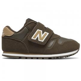Zapatillas New Balance Lifestyle Elastico marrón bebé