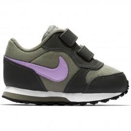 Zapatillas Nike MD Runner 2 (Tdv) verde/fucsia bebé