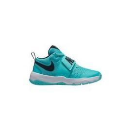 Zapatillas baloncesto Nike Team Hustle D 8 (GS) azul niño