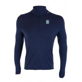 Camiseta térmica Helly Hansen Lifa Merino azul suecia hombre