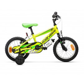 "Bicicleta Conor Ray 14"" Amarillo"
