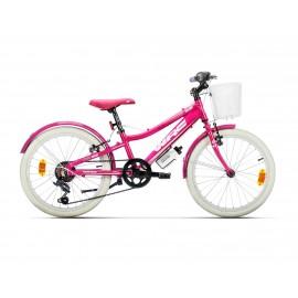 """Bicicleta Wrc Halebop 20"""" Rosa"""