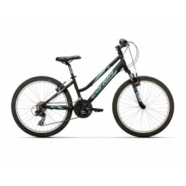"Bicicleta Conor 440 24"" Negro/Azul Lady"