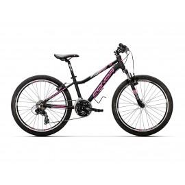Bicicleta Conor 340 21v Negro/Rosa