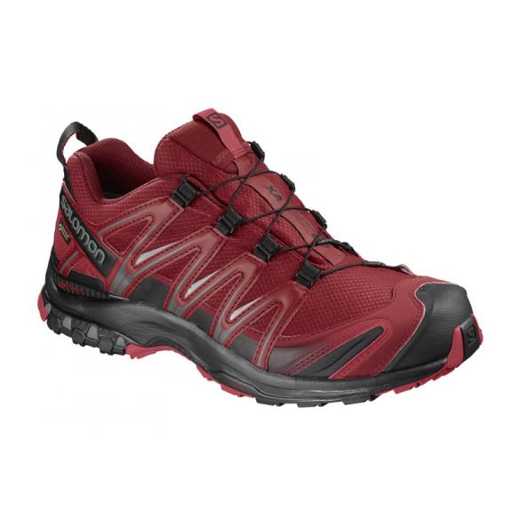Zapatillas trail running Salomon Xa Pro 3D GTX roja hombre