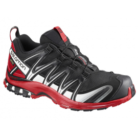 Zapatillas trail Salomon Xa Pro 3D Gtx negro/rojo hombre