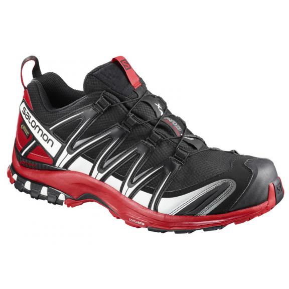 Deportes Moya Hombre Negrorojo Salomon Pro Gtx 3d Trail Xa Zapatillas W8RFqOww