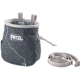 Bolsa magnesio Petzl Saka gris