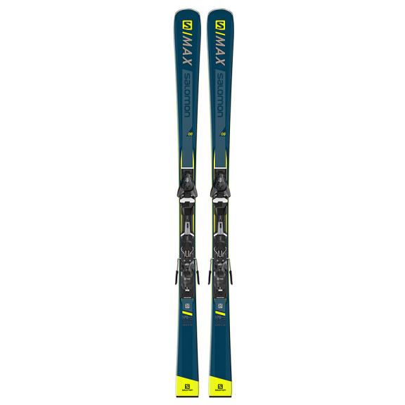 Pack esquís Salomon E S/Max 8 + Mercury 11 L80 unisex