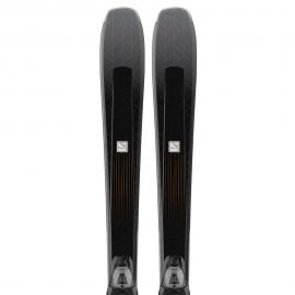 Pack esquís Salomon E Aira 76 Cf + Lithium 10 W L80 mujer