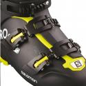 Botas esquí Salomon X Pro 110 negro verde acido hombre