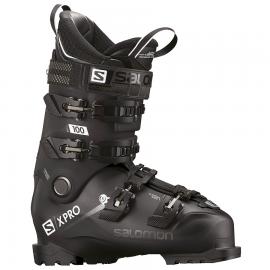 Botas esquí Salomon X Pro 100 negro metal negro hombre