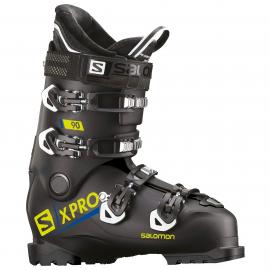 Botas esquí Salomon X Pro 90 negro acido verde hombre