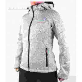 Forro polar Breezy Dixer gris mujer