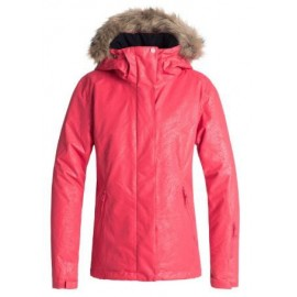 Chaqueta para nieve Roxy Jet Ski Solid coral mujer
