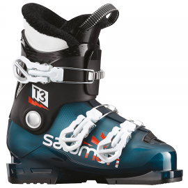 Botas esquí Salomon T3 Rt azul negro junior