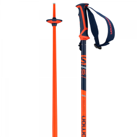 Bastones esquí Salomon X 08 azul naranja  unisex