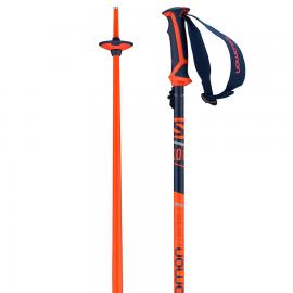 Bastones esquí Salomon X 08 azul rojo unisex