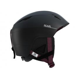 Casco esquí Salomon Pearl2+ negro mujer