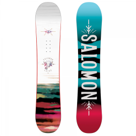 Pack snow Salomon Lotus + Spell blanco mujer