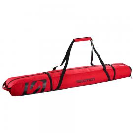 Bolsa esquís Salomon Ski Extend 2P 175+20 rojo unisex