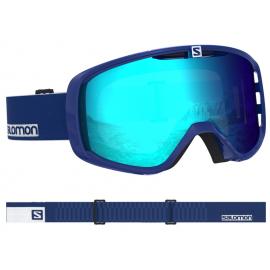 Máscara Salomon Aksium surf azul unisex