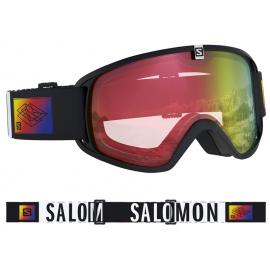 Máscara Salomon Trigger Photo negro junior