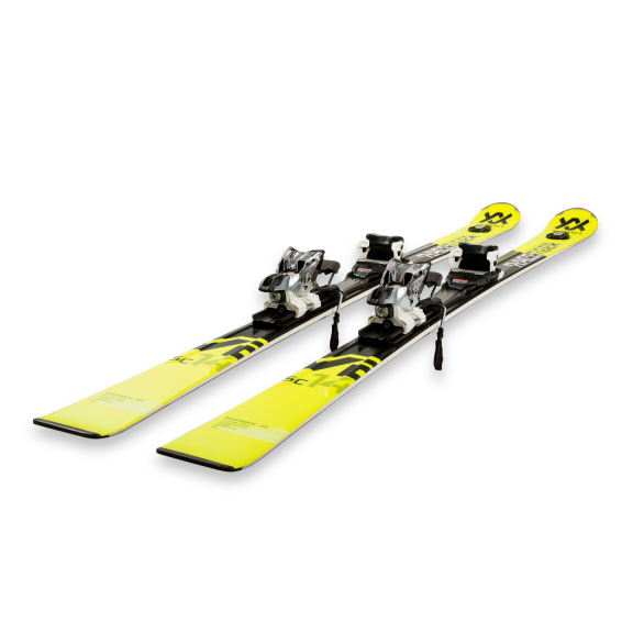 Pack esquís Völkl Racertiger Sc yellow + V Motion 11 Gw