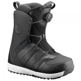 Botas snow Salomon Launch Boa Jr negro junior