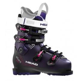 Botas esquí Advant Edge 75 W violeta negro mujer