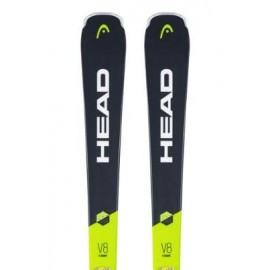 Pack esquís Head V-Shape V8 Sw Lyt-Pr + Pr 11 Gw unisex