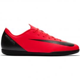Zapatillas fútbol Nike Vapor 12 club CR7 ic roja hombre