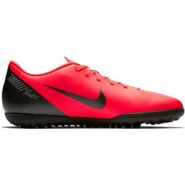 Zapatillas fútbol Nike Vapor 12 club CR7 tf rojo hombre
