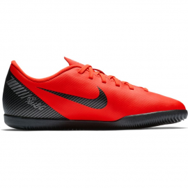 Zapatillas fútbol Nike Vapor 12 club CR7 ic rojo niño